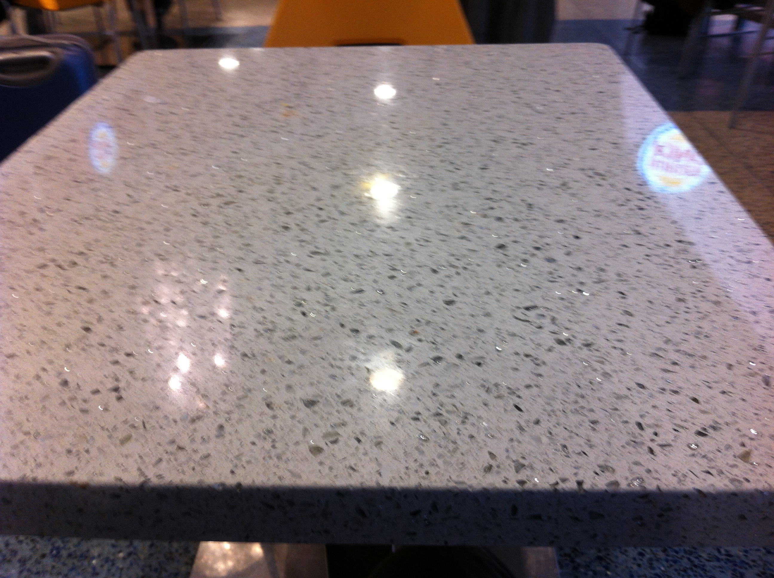 ... Terrazzo Can Make A Great Table Or Counter Top. ...